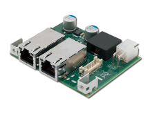 PMX-100 mini-PCIe 2-Port PoE Card